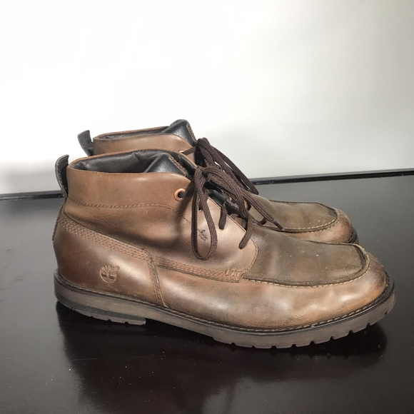 Timberland Other - TIMBERLAND men Mid Chukka Leather Boots Sz 10.5 M